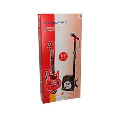 Conjunto flash micro+bafle+guitarra - 8411865708444