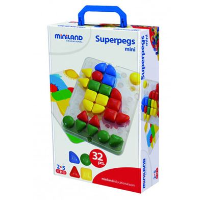 Superpegs.maletin placa mini - 8413082950835