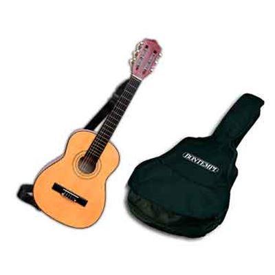 Guitarra madera 75 cm con funda - 07917521