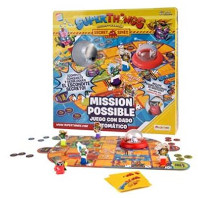"""Superthings juego """"mission possible"""""""