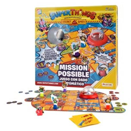 """Superthings juego """"mission possible"""" - 04821655"""