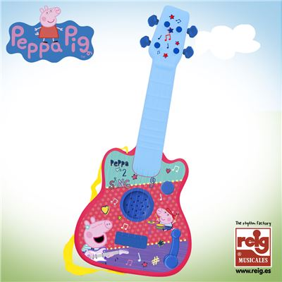 Guitarra infantil peppa pig - 8411865023462