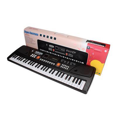 Órgano 61 teclas, c/micro, toma usby cable audio - 8411865089222